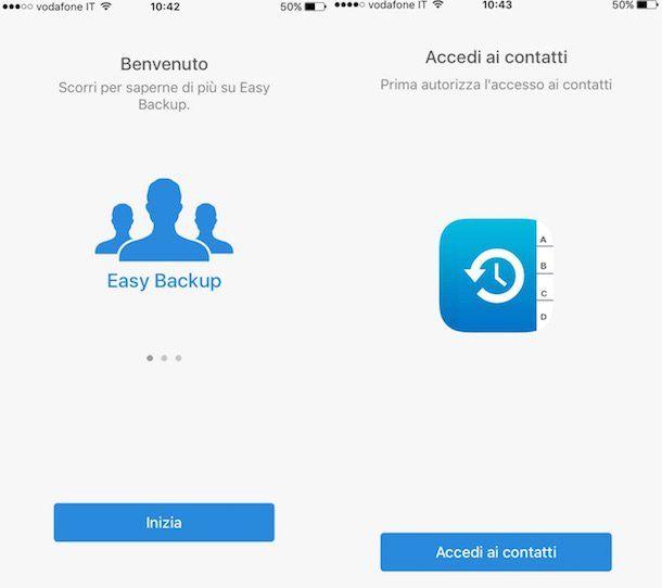 Screenshot di Easy Backup