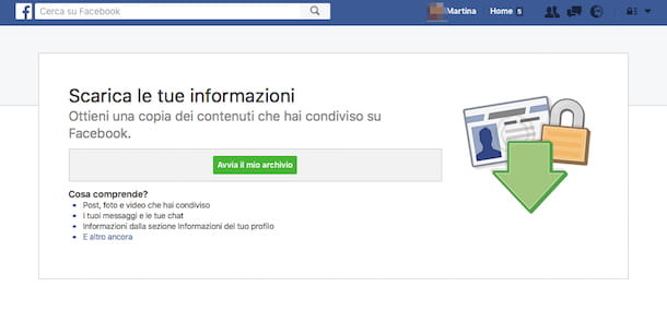Come recuperare messaggi cancellati Facebook
