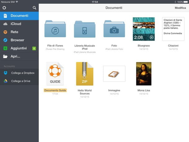 Come trasferire file da PC a iPad
