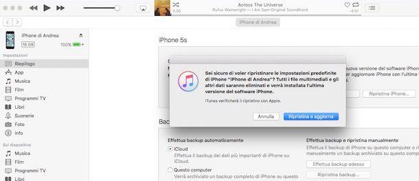 copiare rubrica da iphone 4s a iphone