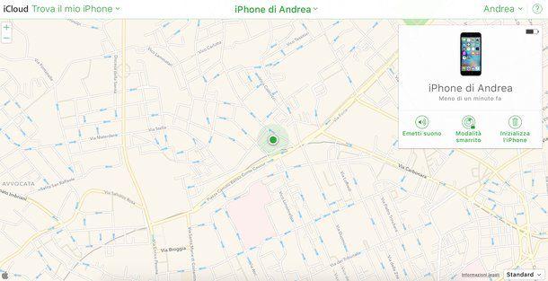Come attivare localizzazione iPhone