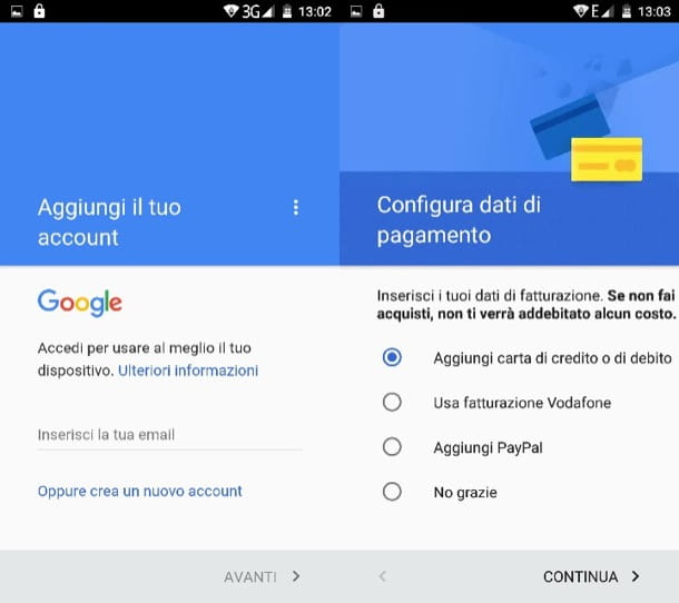 Come cambiare account Play Store