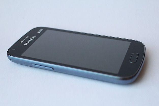 Foto di uno smartphone Samsung