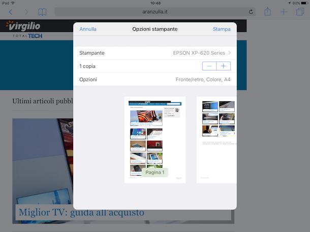 Screenshot iPad