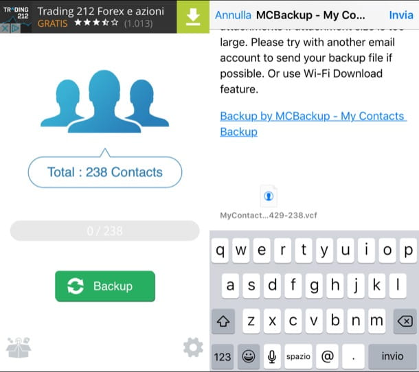 Come trasferire contatti da iPhone a iPhone