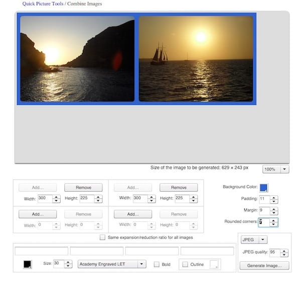 Screenshot di Quick Picture Tools
