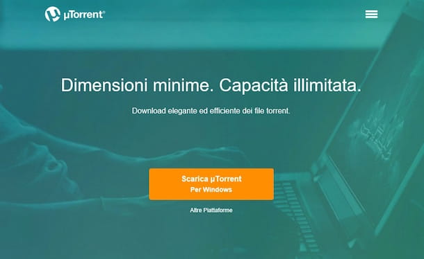 Screenshot uTorrent