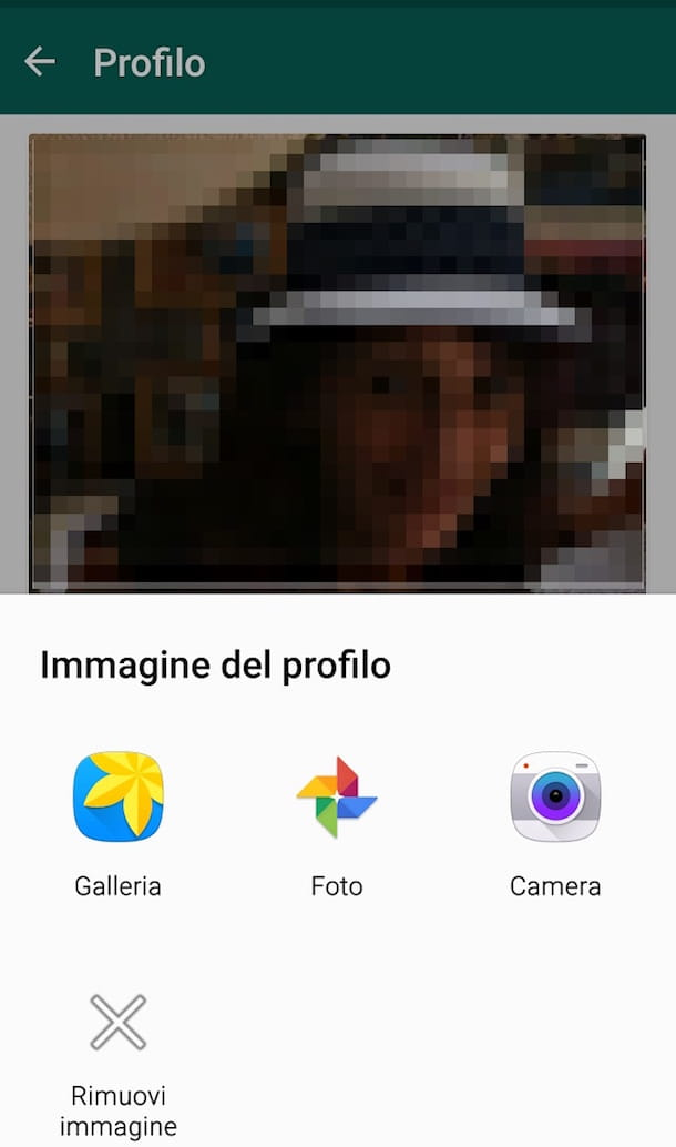 Screenshot di WhatsApp su Android