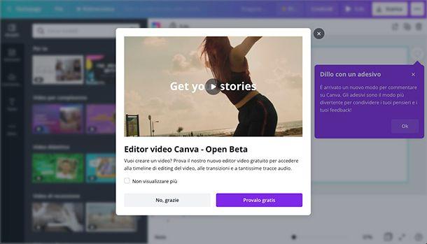 App per creare video Canva
