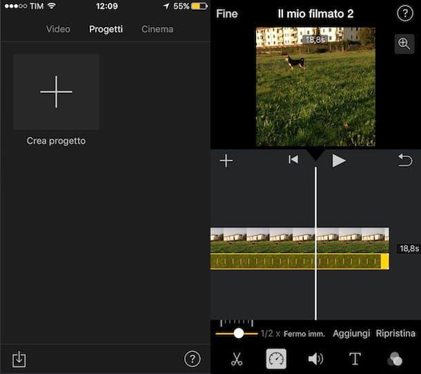 App per creare video iMovie