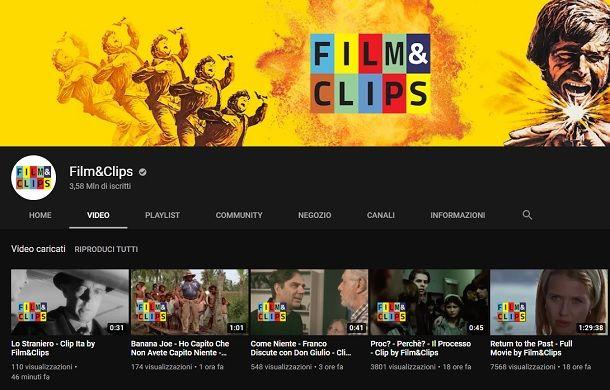 Film e Clips Minerva Pictures YouTube
