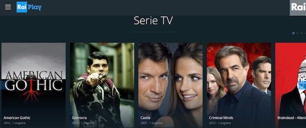 Siti per vedere serie TV