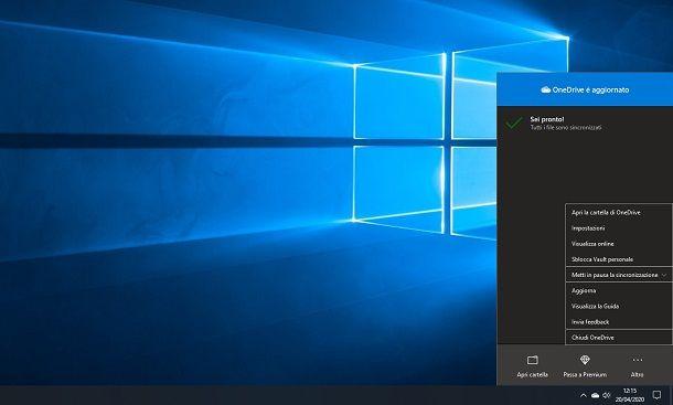 OneDrive su Windows 10