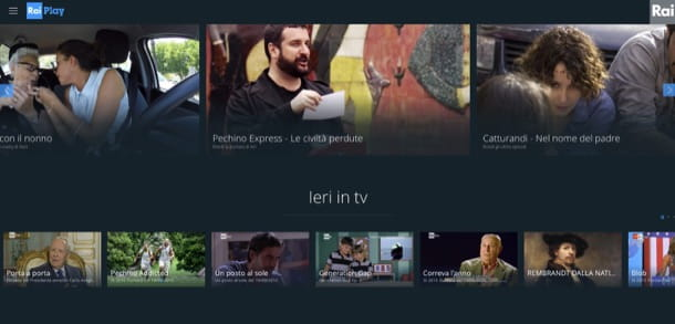Come vedere TV in streaming