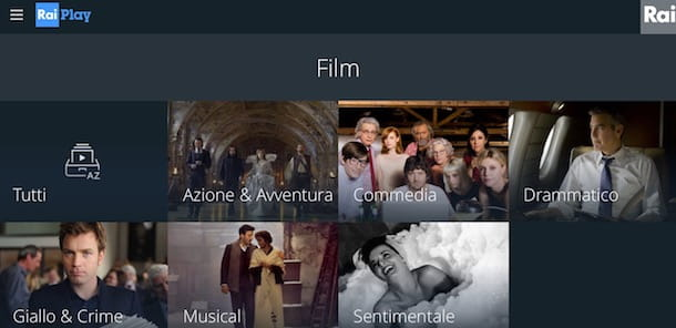 Siti per vedere film in streaming gratis