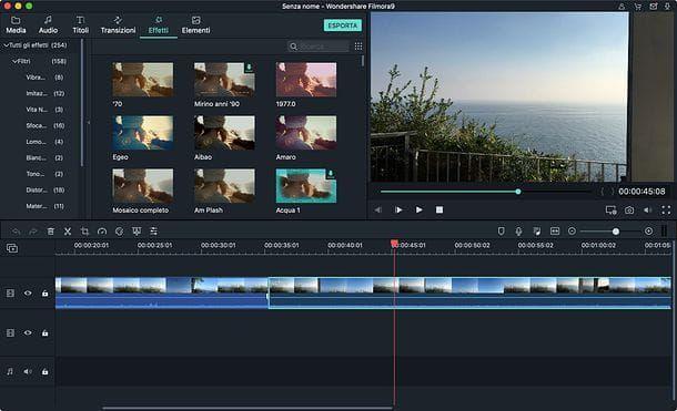 App per creare video Wondershare Filmora