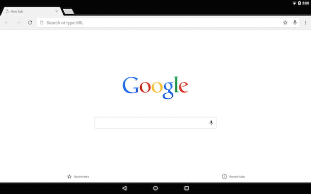 Screenshot Google Chrome Android