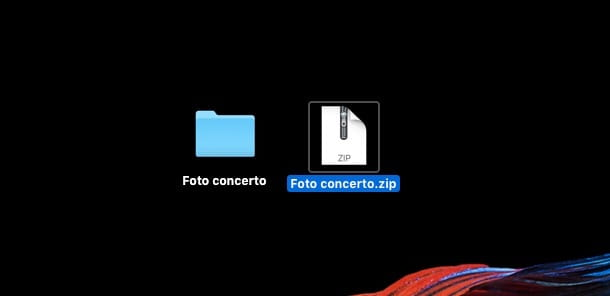 Screenshot o di Utility Compressione