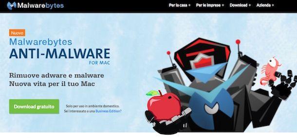 Screenshot che mostra come eliminare MacKeeper