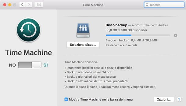 Come formattare Mac Yosemite