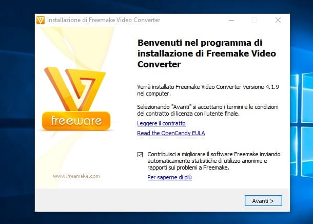 Screenshot di Freemake Video Converter