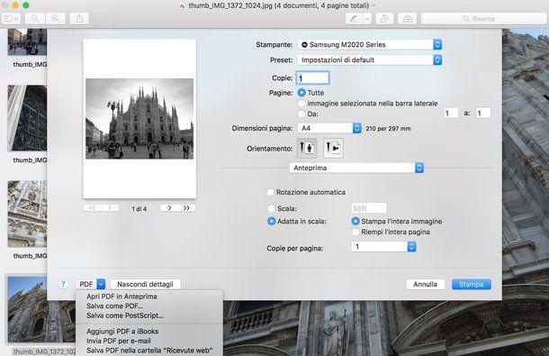 Programma per convertire in PDF