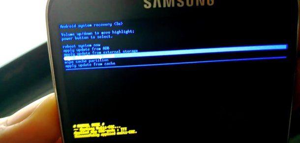 Come formattare Samsung S4