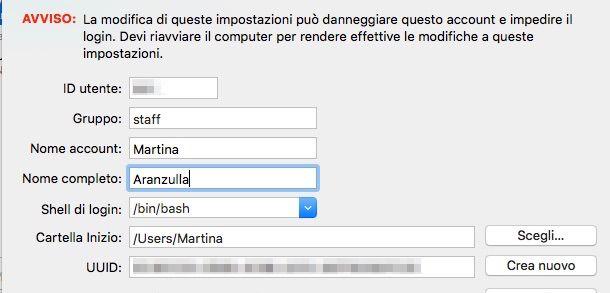 Screenshot di OS X