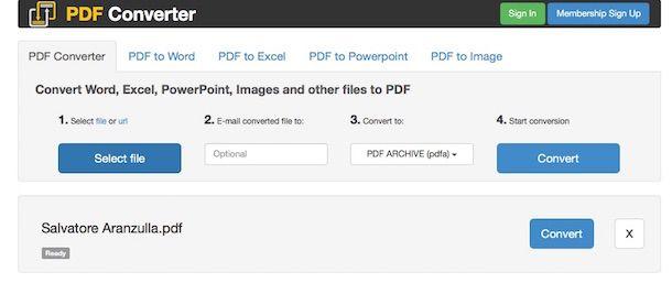 Screenshot di PDF Converter