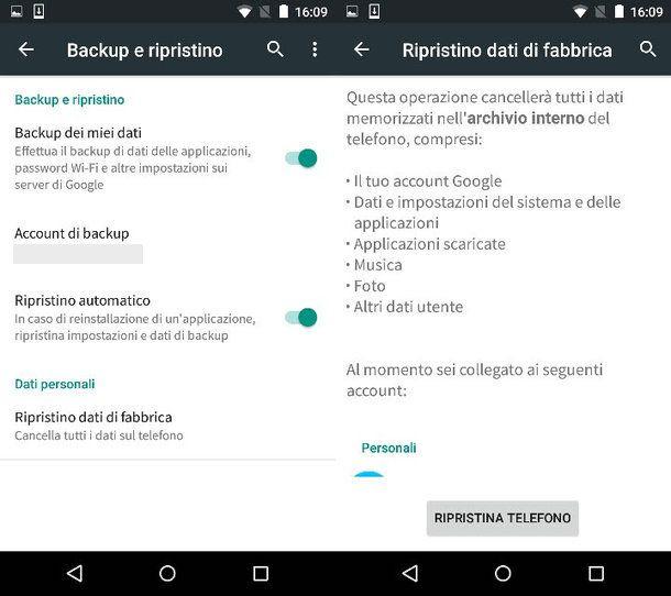 Riprisintare Android