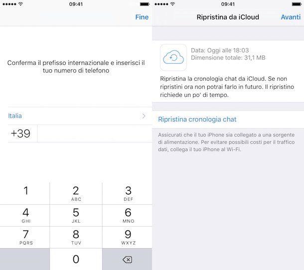 Come trasferire messaggi WhatsApp