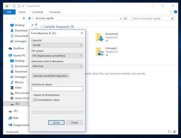 Screenshot USB Windows