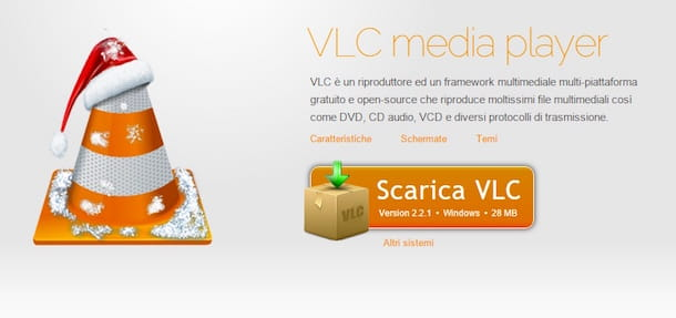 Screenshot di VLC