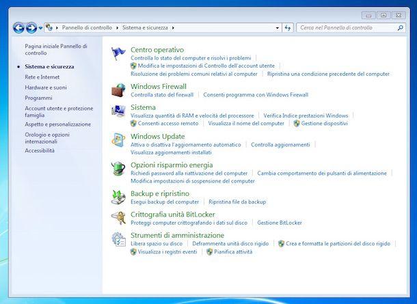 Screenshot che mostra come cambiare product key Windows 7