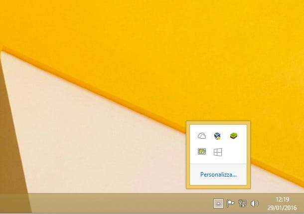 Screenshot che mostra come eliminare aggiornamento Windows 10
