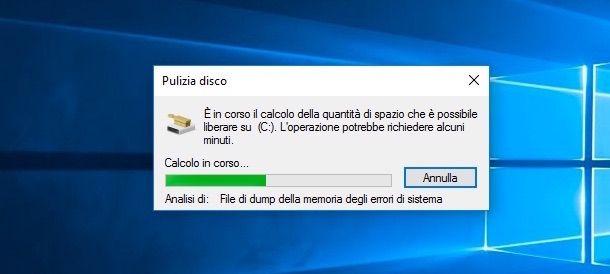 Screenshot Windows.old su Windows 10