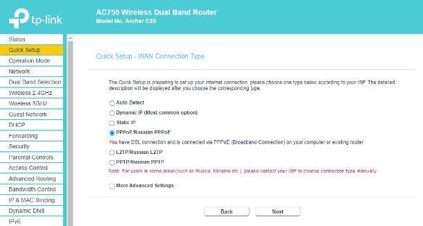 Come configurare router TP LINK per Eolo