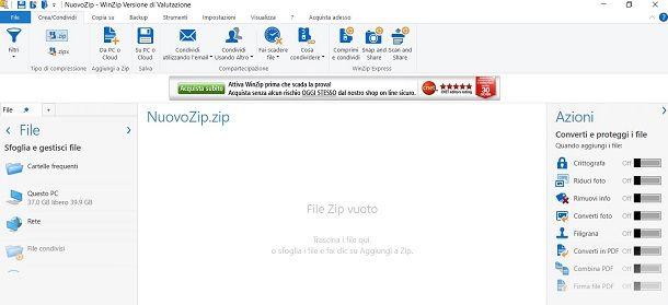 WinZip per Windows