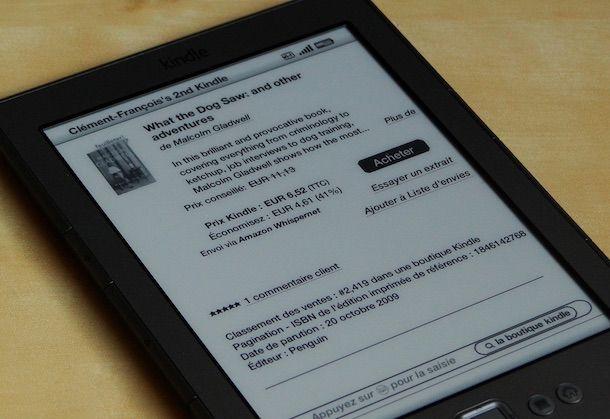 Foto di Kindle Store su Kindle