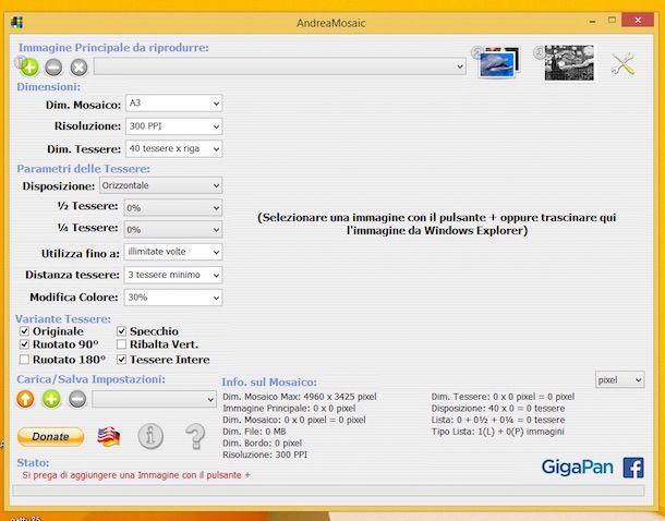 Screenshot di AndreaMosaic