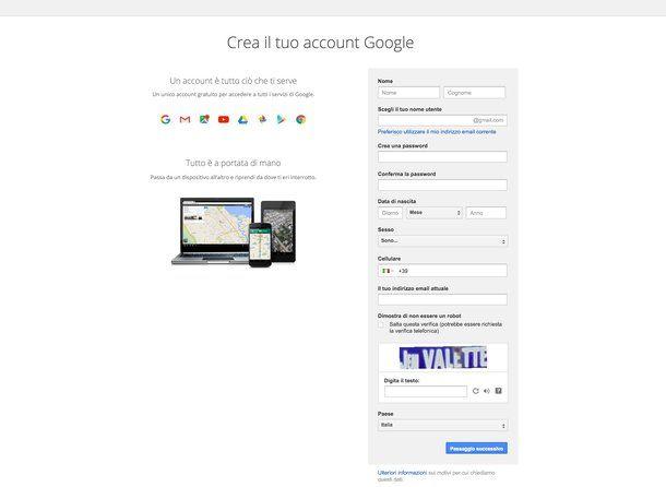 Come cambiare account Gmail