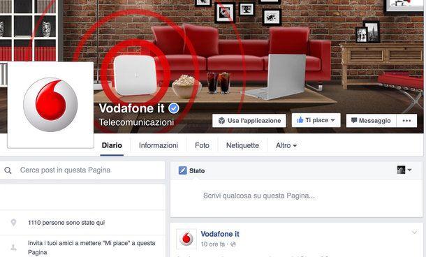 Come faccio a parlare con un operatore Vodafone?