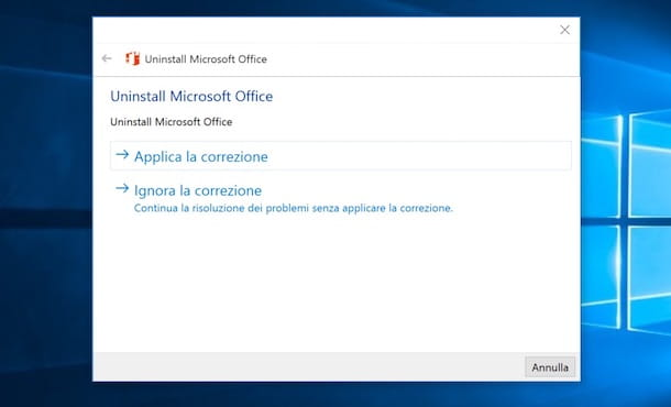 Come disinstallare Office 2013
