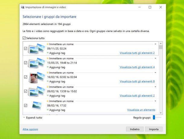 Come trasferire foto da Samsung a PC