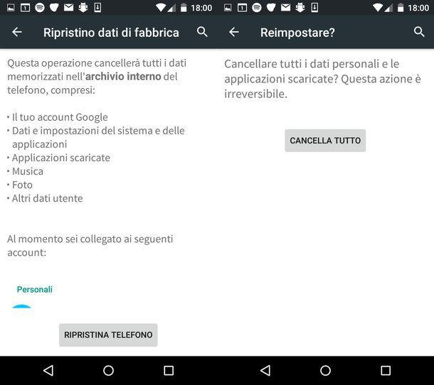 Come resettare Samsung Galaxy S3