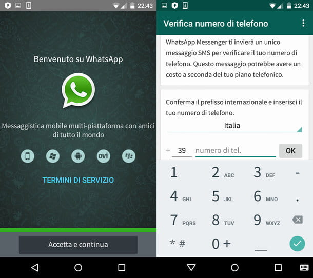 Come impostare WhatsApp