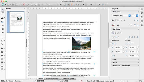Come inserire immagine in PDF