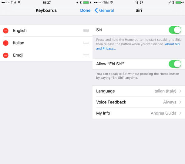 Come cambiare lingua iPhone