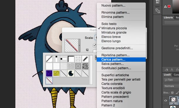 Come creare pattern Photoshop