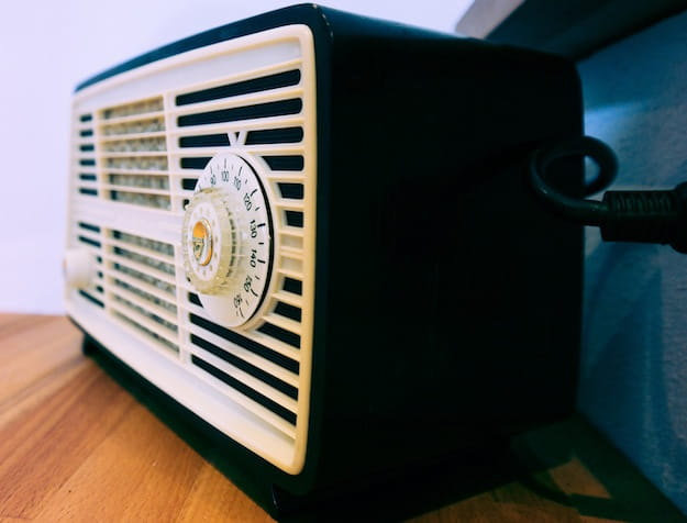 Foto di una radio